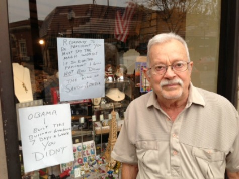 Vandal Scrawls 'Racist' on Chicago Shop with Anti-Obama Sign