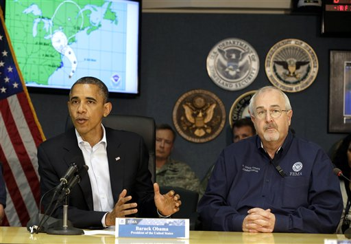 ABC News Sets Template For Obama Win, via Storm Coverage