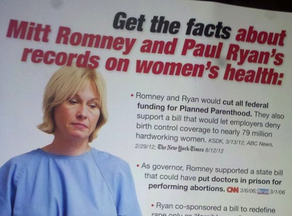 Misleading Obama Mailer Attacks Romney/Ryan on Rape, Abortion