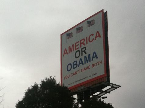 Billboard: America or Obama-You Can't Have Both