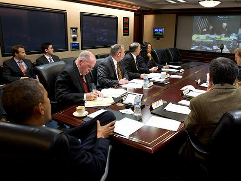 Obama Situation Room Photo Op: Yes for Hurricane Sandy, No for Benghazi