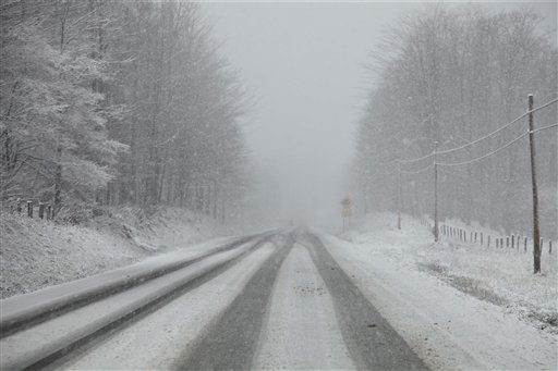 W.Va. Blizzard Warning as Appalachia Storm Blows