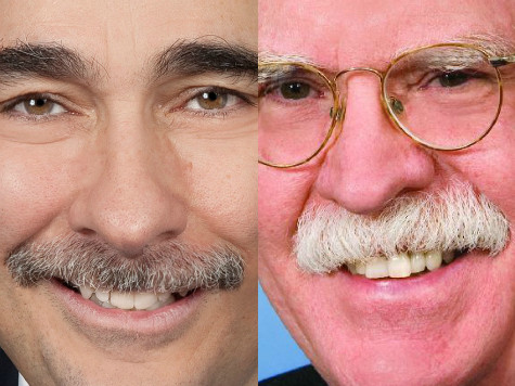 Axelrod or Bolton: Which Shaved 'Stache Would Be Bigger Loss for America?