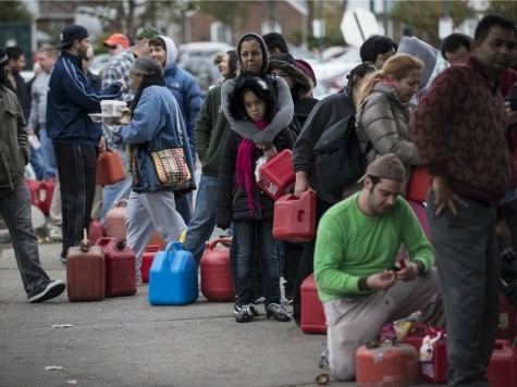 Live Updates – NY/NJ Gas Shortages: Mile-Long Lines, Rationing, Fights, Police Draw Guns