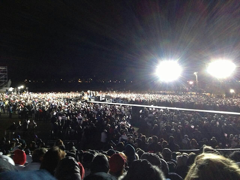 30,000+ Rally for Romney in Pennsylvania