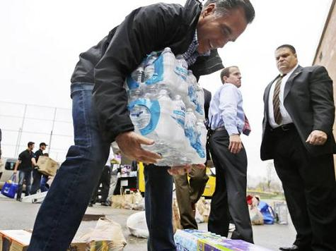 Romney Sent Bottled Water to Sandy Victims the Day After Storm Hit