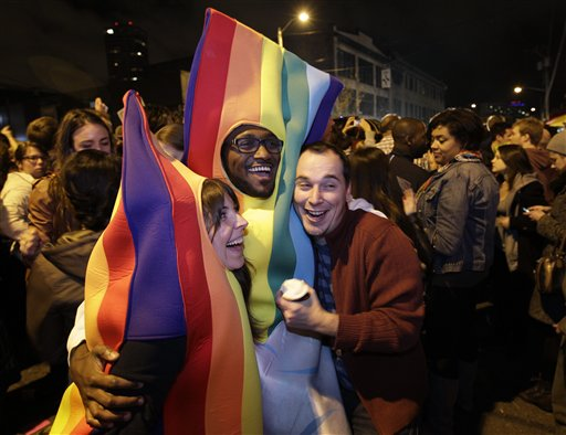 Gay Marriage, Marijuana Backed in Historic Votes
