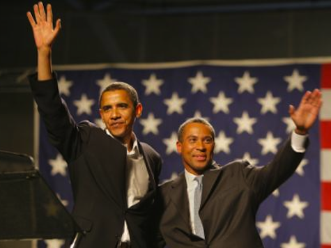 Obama Meets Possible Holder Replacement Deval Patrick For Dinner