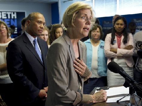 Warren Curt, Deflective in First Presser as Senator-Elect