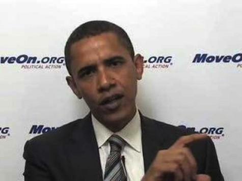 Obama Promises MoveOn.org: We'll Raise Taxes