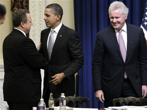 CEOs Warn Obama of Dangers Posed by Fiscal Cliff