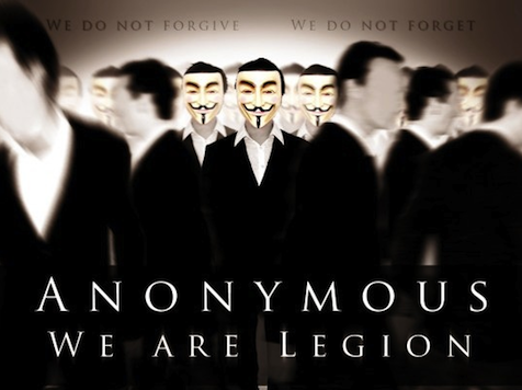 Anonymous Launches Cyberwar Against Israel