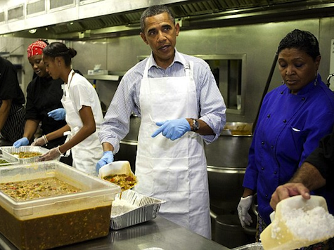 Happy Thanksgiving: Food Pantries Overwhelmed Thanks to Obama Economy
