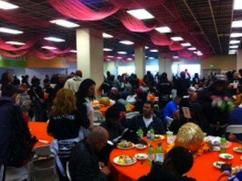 Happy Thanksgiving: Union Rescue Mission Labels LA 'The Homeless Capital of America'