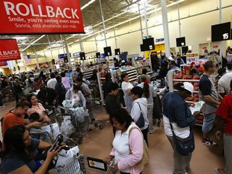 Union Fail: Walmart Reports Record Sales