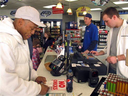 Powerball numbers drawn; jackpot was at $325M