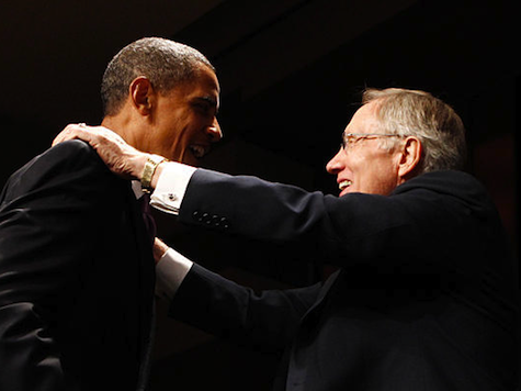 Obama Backs Reid Attempt to End Filibuster