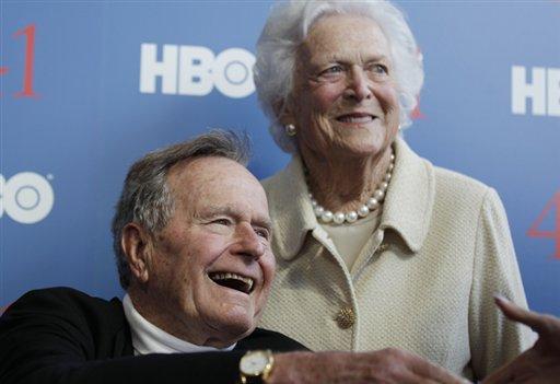 Ex-President George H.W. Bush in Texas Hospital