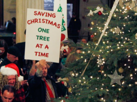 Gov. Lincoln Chafee: It's a Holiday Tree, Not a Christmas Tree