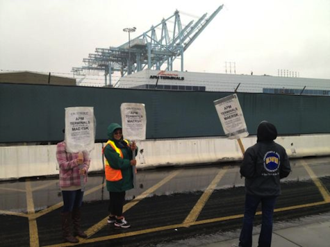 CA Union Shuts Down America's Largest Ports