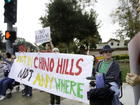 CA Residents Protest Alleged Chinese 'Maternity Hotel'