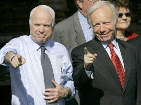 McCain Jokes with Lieberman About Judaism