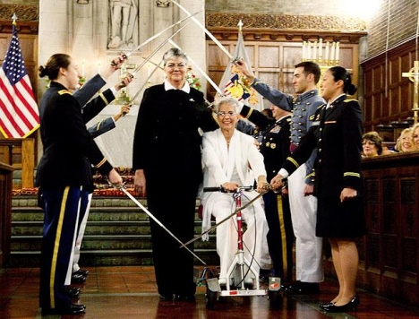 West Point Chapel Hosts First Same-Sex Marriage