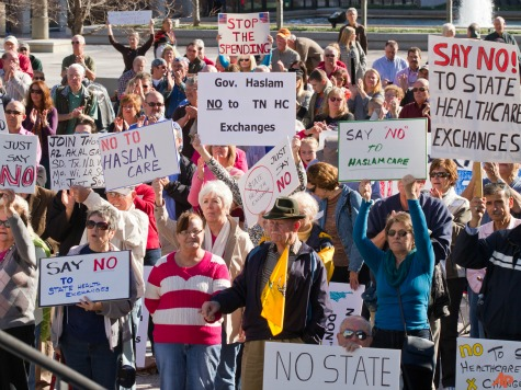 Tennesseans Rally Against State Obamacare Exchange