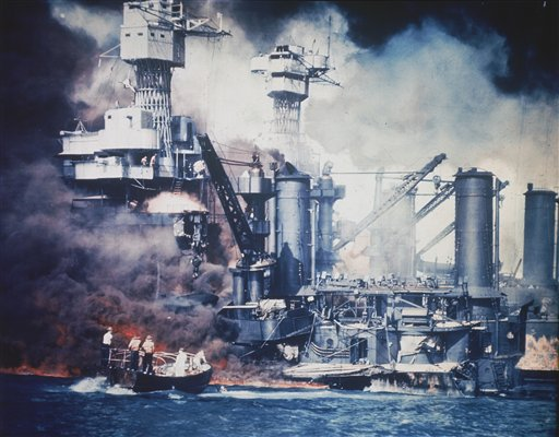 Pearl Harbor Attack Remembered on 71st Anniversary