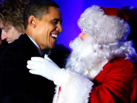 Poll: Americans Think Santa Votes Democrat