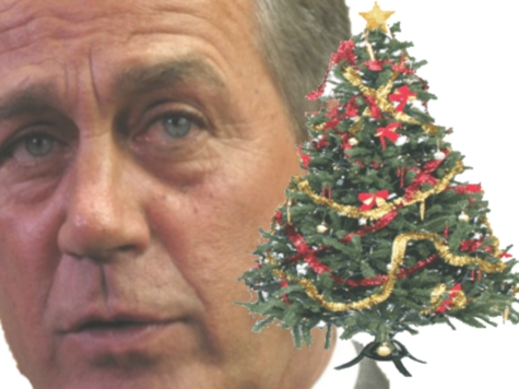 Boehner to House GOP: Don't Go Home for Christmas