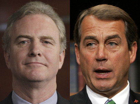 Rep. Van Hollen: Boehner Delaying on Fiscal Cliff to Aid Reelection as Speaker