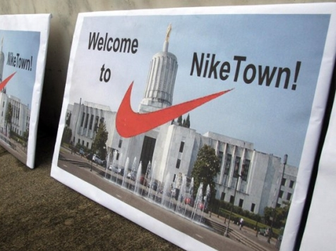 Nike Lands Democrat Deal to Avoid Paying 'Fair Share' of Taxes