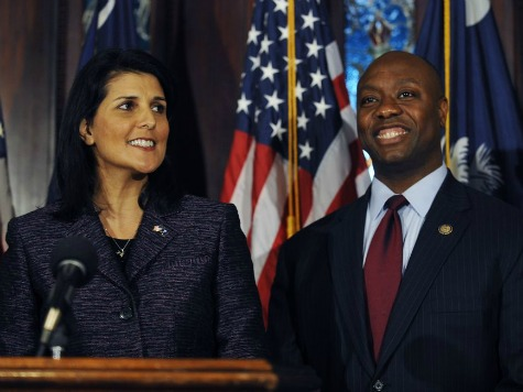 Haley: Scott 'The Right U.S. Senator' for Our State and Country