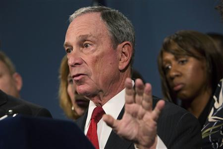 Bloomberg Slams Lawmakers for Fear of Gun Lobby