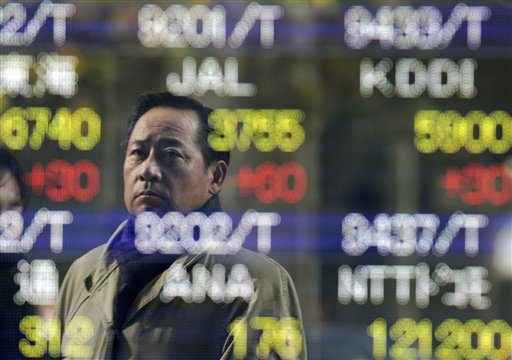 World stocks stall as US budget talks sour