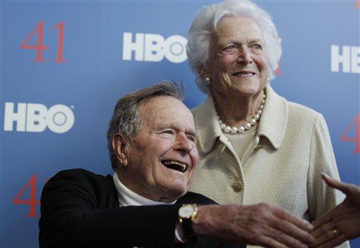 Former President Bush still hospitalized