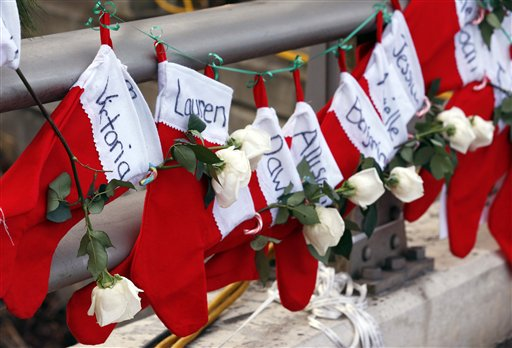 Many Share Newtown's Mourning During Holidays
