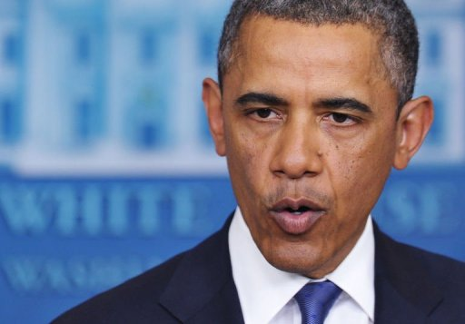 Obama blames Republicans for fiscal cliff mess