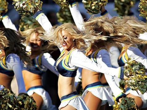 Biden on Cheerleaders: 'The Stuff They Do on Hardwood Blows My Mind'