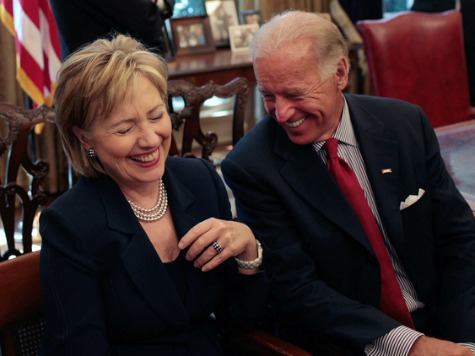 Media, Public Prefer Hillary over Biden for 2016