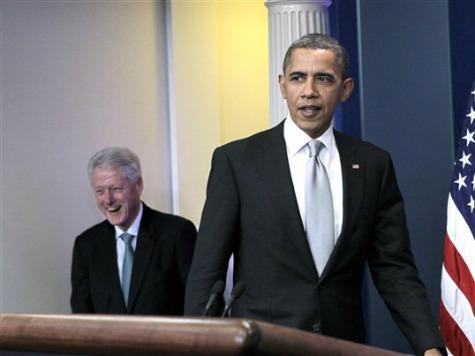 Revenge of the Clintons: Bill Backs Romney on State of Economy
