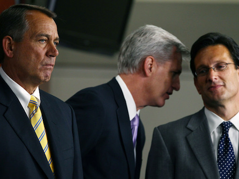 Cantor, McCarthy Turn Young Guns on Boehner, Ryan