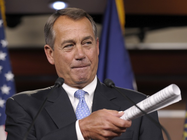 House GOP Not Consulted on Boehner's Budget Proposal
