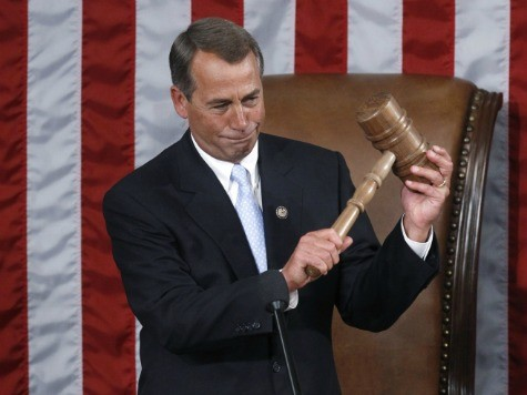 Steve King: Boehner a Goner if He Touches Amnesty