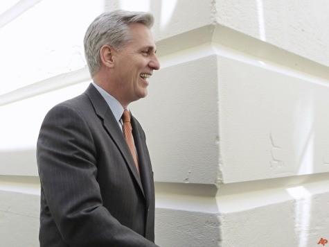 Cantor: McCarthy Should Succeed Me as Majority Leader