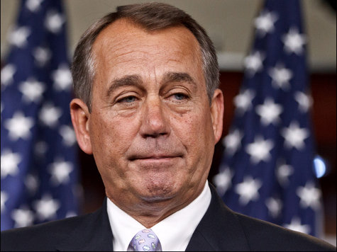 Boehner Mocks Tea Party Caucus