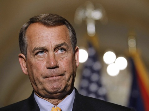 Group: Boehner Can't Get Majority of GOP to Back Deal