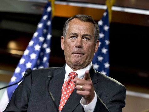 Source: Boehner Says No to Immigration Bill Without House GOP Support