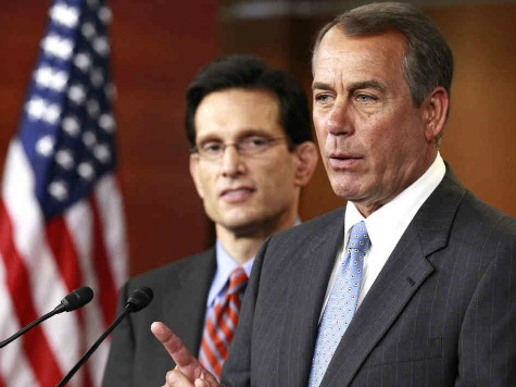 House GOP Leadership Split Votes Over 'Fiscal Cliff'